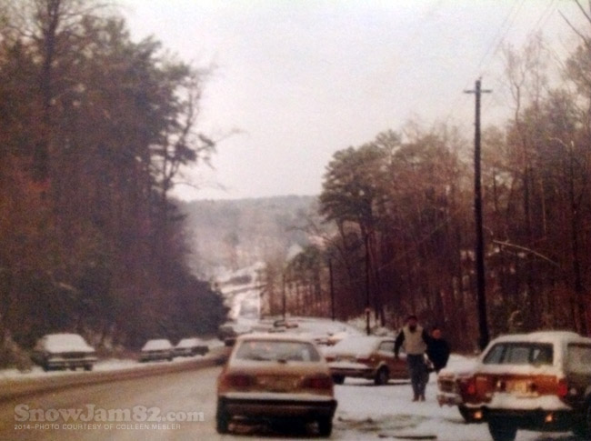 Snow Jam 82 - Johnson Ferry Rd / East Cobb / Marietta GA